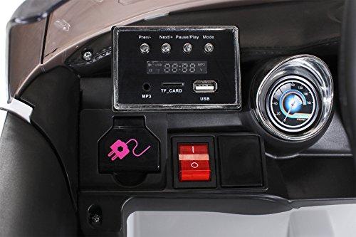 RC Auto kaufen Kinderauto Bild 6: Actionbikes Motors Kinder Elektroauto Mini Cooper Eva Reifen Ledersitz Kinderfahrzeug Kinderauto in vielen Farben (Weiß)*