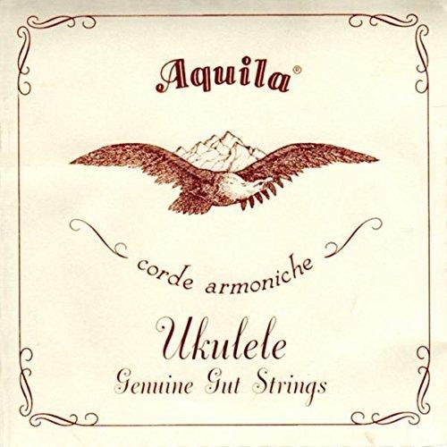 Aquila 43U BANJO Ukulele (Banjo Uke/Banjolele) - GCEA Tuning (Darm)