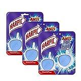 Harpic Pack de 2 Blocs WC Nettoyant Galet Hygiène Antitartre - Lot de 3