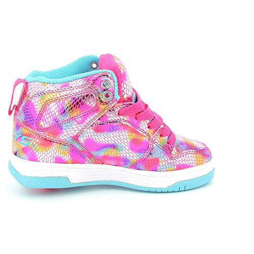 Heelys Flash, Chaussures mixte enfant snake/pink/metallic