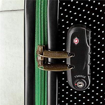 514tSgUWs8L. SS416  - Gorjuss 3221461 The Scarff Equipaje Infantil 55 cm, 33 litros, Verde