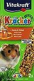 Vitakraft Hamster Kräcker Honig, 10er Pack (10 x 160 g)
