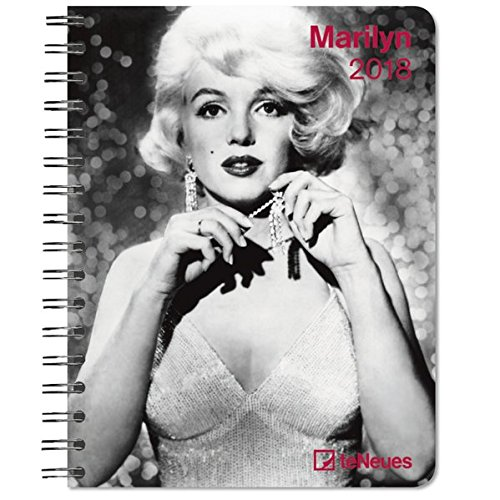 2018 Marilyn Deluxe Diary - teNeues - 16.5 x 21.6 cm