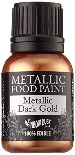 Rainbow Dust Essbare Metallisch Lebensmittel Farbe Event Dark Gold Lebensmittel Lebensmittel
