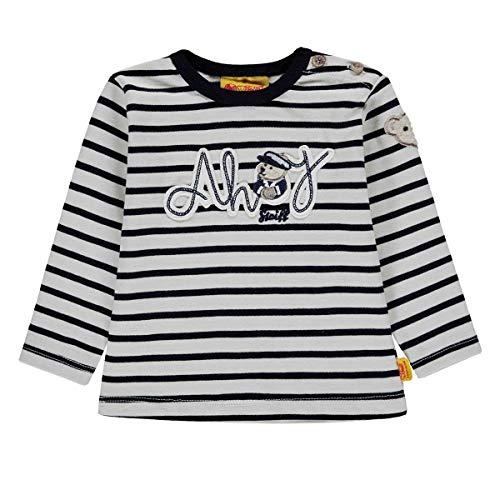 Steiff Steiff Jungen Baby Shirt Langarm Marine (52) 74