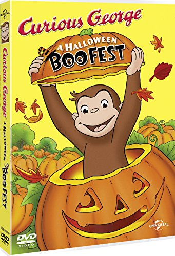 Image of Curious George: A Halloween Boo Fest  [DVD]