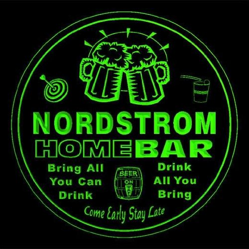 4x-ccq32735-g-nordstrom-family-name-home-bar-pub-beer-club-gift-3d-coasters