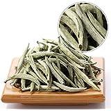 GOARTEA 100g (3.5 Oz) Premium Chinese Organic Bai Hao Yin Zhen BaiHaoYinZhen Silver Needle White Loose Tea Blanco
