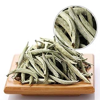 GOARTEA-100g-35-Oz-Premium-Chinese-Organic-Bai-Hao-Yin-Zhen-BaiHaoYinZhen-Silver-Needle-White-Loose-Tea-Tee