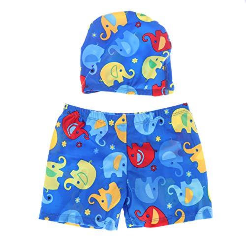 LIOOBO Troncos de natación para niños Caricaturas de natación para bebés Conjunto...