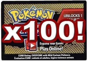 Lot of 100 Pokemon Trading Card Game Online Codes (PTCGO) - Next Destinies [Toy]