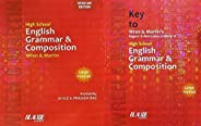 High School Wren and Martin English Grammar and Composition (Regular Edition) + Key to Wren and Martin English