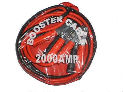 Cavi batteria isolati, 2000 AMP , lunghezza 2,5 m