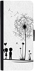 Snoogg Dandelions Child Lovedesigner Protective Flip Case Cover For Samsung G...