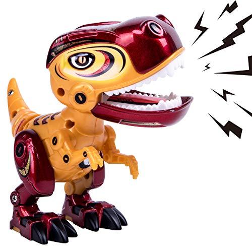GILOBABY Elektrische Dinosaurier Spielzeug für Kinder , lebensechte mehrfarbige Dinosaurier mit Sound & Lights , Dinosaurier Spielzeug für Bildung und Lernen , Geschenke für Jungen / Mädchen - Dinosaurier-spielzeug Kinder Für