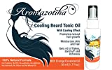 Best Hair Oils For Men - Aromazotika Men's Beard, Mustache and Hair Growth Tonic Review