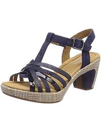 Women Comfort Sport Ankle Strap Sandals, Beige (Space Grata), 3.5 UK (36 EU) Gabor