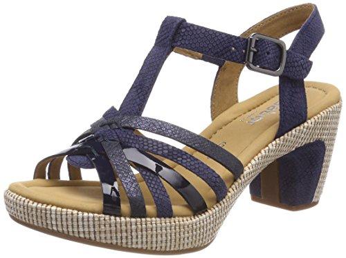 Gabor Shoes Damen Comfort Sport Riemchensandalen, Blau (Blue (Ba.St), 42 EU