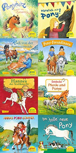 Ponygeschichten mit Pixi (8x1 Exemplar) (Pixi-8er-Set, Band 259)