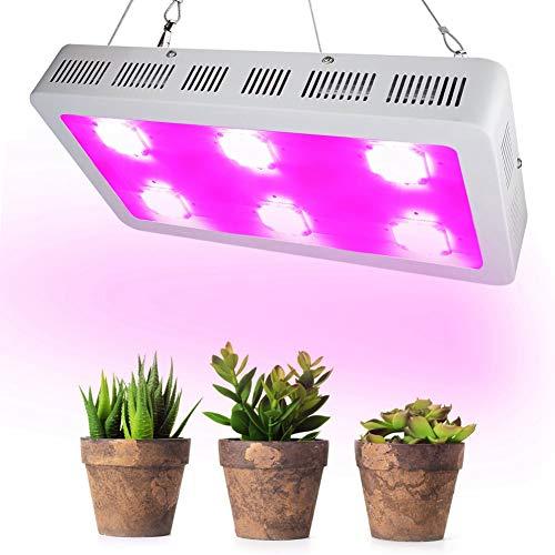 1800W Lámpara de Espectro Completo de Planta COB LED de Cultivo de Hidroponía para Invernadero