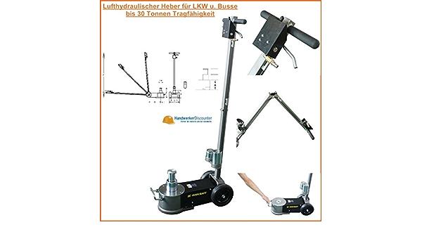 Rodcraft Luft Hydraulischer Wagenheber Bis 30 Tonnen Teleskopisch Für Lkw Und Nutzfahrzeuge Baumarkt