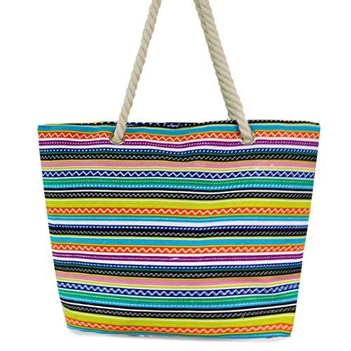 Millya, borsa da viaggio grande in tela, 34,29 cm, ragazza donna, Picture 8, Middle A colori - Picture 6