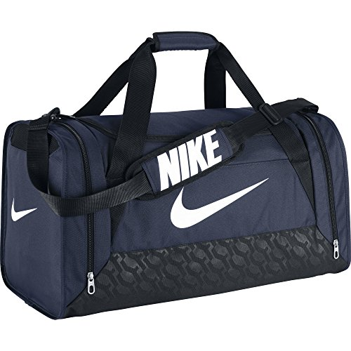 Nike Borsone da calcio Brasilia - Blu (Midnight Navy/Black/White) - 61 x 30 x 31 cm