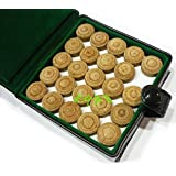 HR Group 7 Layered TIP for Snooker and Pool CUES 10MM (for Professionals) Pack of 10 Pieces