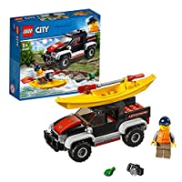 Lego 60240 Cars For Boys 5 Years & Above,Multi color