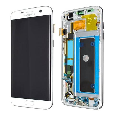 SAMSUNG LCD Display Samsung G935F Galaxy S7 Edge Original full set white