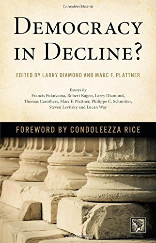 Democracy in Decline? (A Journal of Democracy Book) (July 30, 2015) Hardcover