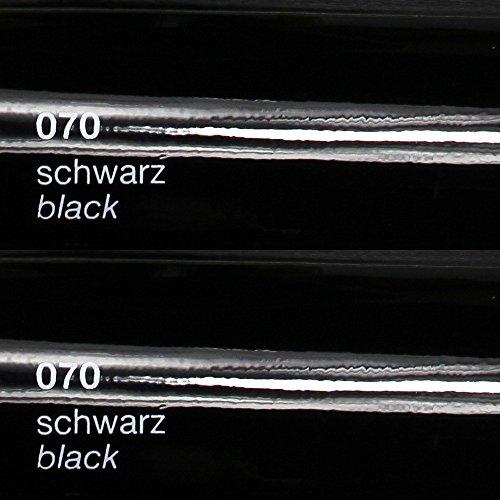 Unbekannt Oracal 751c - 070 Schwarz - Klebefolie Set - 5m x 63cm - Folie - Moebelfolie - Plotterfolie - Selbstklebend - gegossen - cast