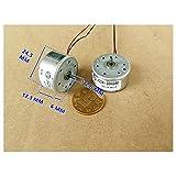 Generic 5PCS 300 Solar Motor 3500RPM-6000RPM Toy Motor DC3V-5V DIY Accessories