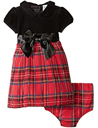 Little Me Baby Girls' Plaid Dress and Panty