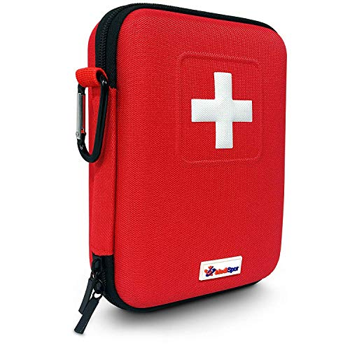 Steady Outdoor First Aid Kit Emergency Car Kits Bag Camping Travel Survival Kit Empty Bag Househld Medical Bag Waterproof Professional Design Camping & Hiking