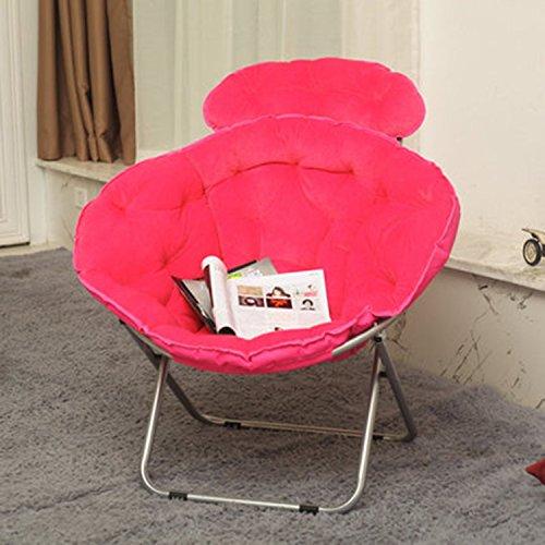 Lune Chaise Lounger Chaise Radar Pause déjeuner Pause Chaise Fauteuil inclinable (Couleur : Rouge)