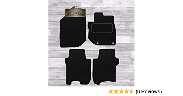 CLASSIC Tailored Black Car Floor Mats 2-Clips TOYOTA RAV 4 2006-2013