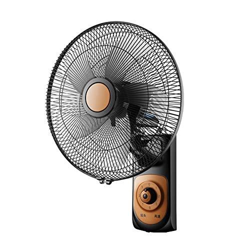 Ventilador de pared Ventilador eléctrico, Ventilador mecánico de Control Remoto de 3...