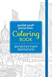 Pocket Posh Panorama Adult Coloring Book: Architecture Unfurled: An Adult Coloring Book by Andrews McMeel Publishing (20