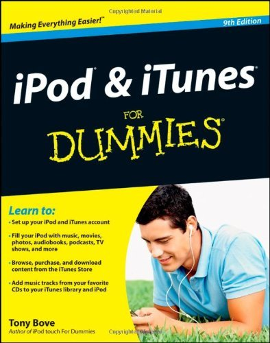 iPod and iTunes For Dummies by Tony Bove (2011-12-27) 27 Ipod