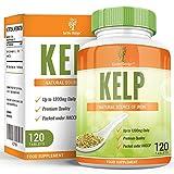 Kelp - Alga Kelp 600mg - Gran Fuente de Yodo - Rica en Vitaminas y Minerales - Suplemento Máxima Concentración - Hombres y Mujeres - Apto Vegetarianos - 120 Tabletas de Earths Design