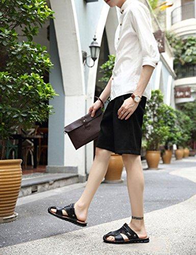 Sandales échassiers En Plein Air Chaussures De Plage Pour Hommes Multicolore Multi-taille Black