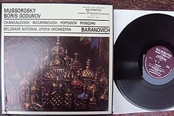 Boris Godunov. Baranovich, Changalovich, Bugarinovich, Popovich, Pivnichki. Produkt of London FFRR Mono