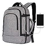 Handgepäck Rucksack, große Kapazität Reisen Rucksack Computer Rucksack Schule Rucksack Casual Daypack Laptop Tasche für Reisen/Business / College/Frauen / Männer