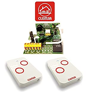 Receiver Universal Gate Garage Clemsa rne248u mutancode with 2remotes High Security Clemsa mutancode