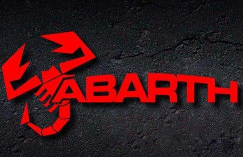 SUPERSTICKI® Abarth 15 cm mit Skorpion Aufkleber Autoaufkleber Sticker Tuning Vinyl UV& Waschanlagenfest Tuningsticker