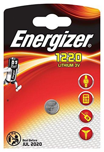 Galleria fotografica Energizer CR1220al litio a bottone batterie DL1220, 3V, uso In auto chiavi, 6pezzi
