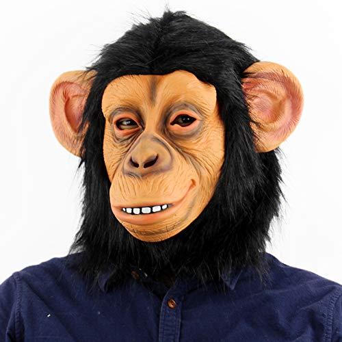 Bnmy Affe Maske Cospaly Halloween Scary Maske Tierische Maske Horrormaske,1