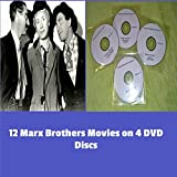 The Marx Brothers Movie Collection 12 Movies on 4 Quality DVD Discs. (NB: These Titles Are Not Factory Produced and Come with Paper Labels). Hours of Fun and High Jinks From These Kings Of American Comedy. [DVD] ...