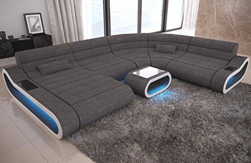 Big Sofa Concept U Form Stoff Mix XXL (Sofa Big)